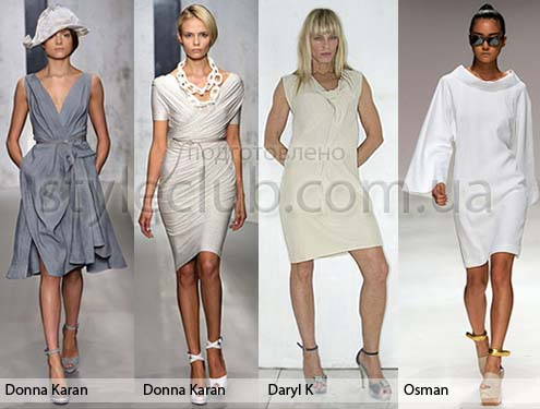 Строгие летние платья для офиса - StyleClub.