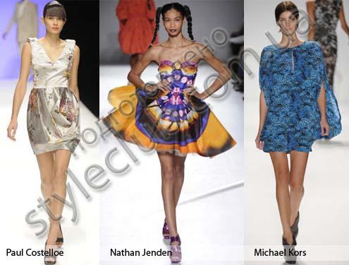 Летние платья 2010 15 модных трендов